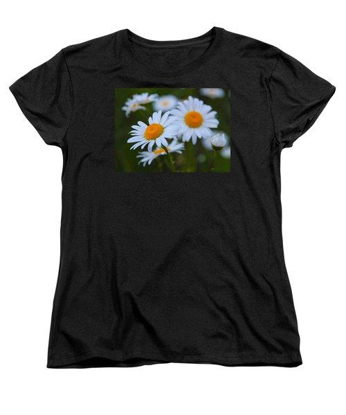 Women's T-Shirt (Standard Cut) featuring the photograph Daisy by Athena Mckinzie
