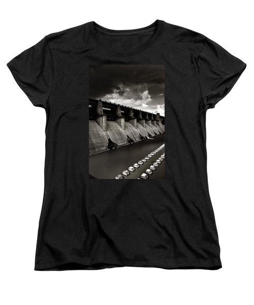Dam-it Women's T-Shirt (Standard Cut) by Brian Duram