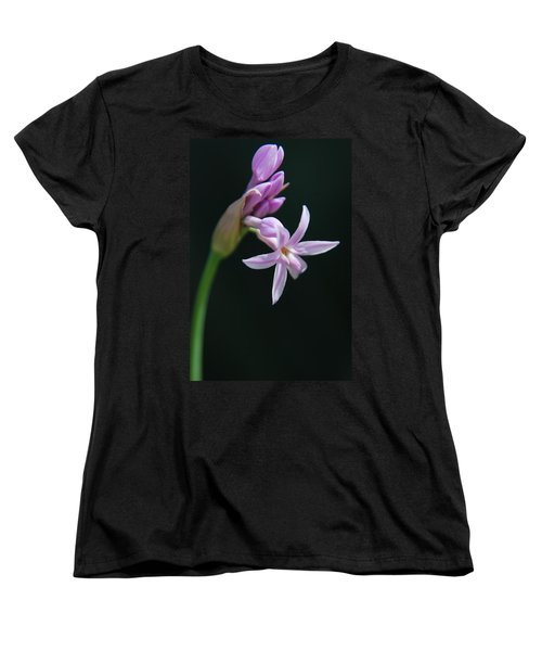 Women's T-Shirt (Standard Cut) featuring the photograph Flowering Bud by Tam Ryan