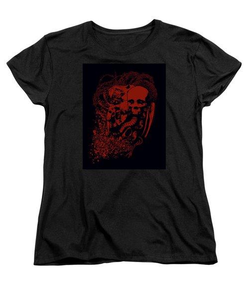 Decreation Women's T-Shirt (Standard Cut) by Tony Koehl