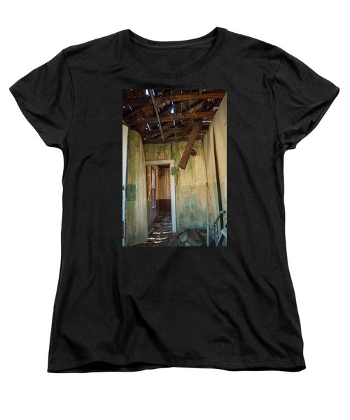 Women's T-Shirt (Standard Cut) featuring the photograph Deterioration by Fran Riley