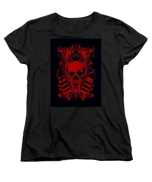 Devitalized Women's T-Shirt (Standard Cut) by Tony Koehl