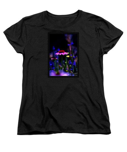 Divine Spirit Of Mother Earth Women's T-Shirt (Standard Cut) by Susanne Still