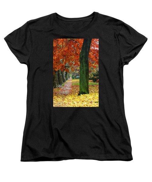 East 19 Street Brooklyn New York Women's T-Shirt (Standard Cut) by Mark Gilman