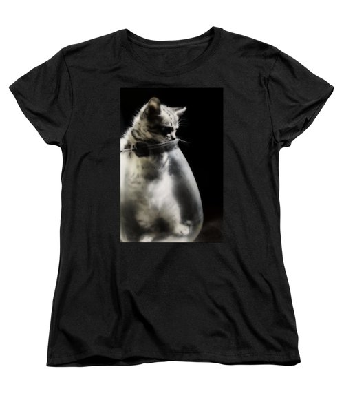 Women's T-Shirt (Standard Cut) featuring the photograph El Kitty by Jessica Shelton
