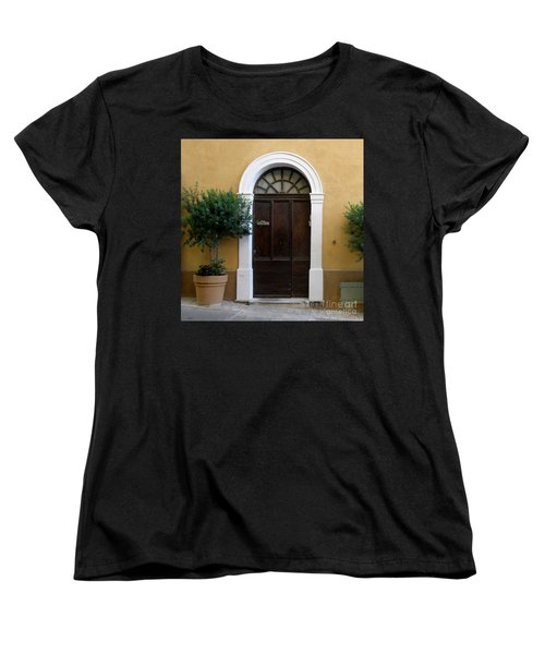 Women's T-Shirt (Standard Cut) featuring the photograph Enchanting Door by Lainie Wrightson
