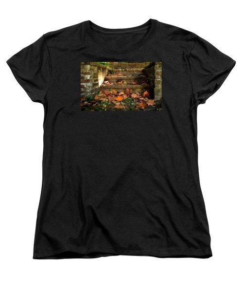 Fall Women's T-Shirt (Standard Cut) by Brian Hughes