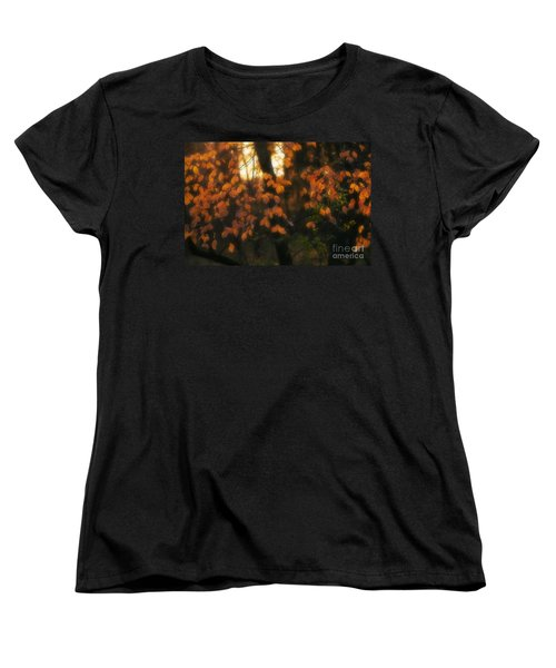 Women's T-Shirt (Standard Cut) featuring the photograph Fall Colours by Art Whitton