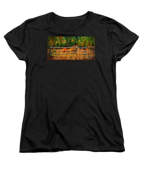 Fall  Women's T-Shirt (Standard Cut)