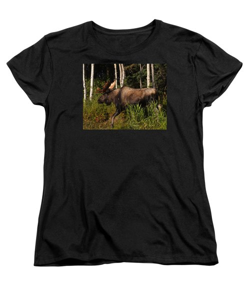 Women's T-Shirt (Standard Cut) featuring the photograph Fast Mover by Doug Lloyd
