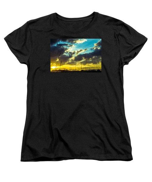 Women's T-Shirt (Standard Cut) featuring the photograph Fernandina Beach by Shannon Harrington