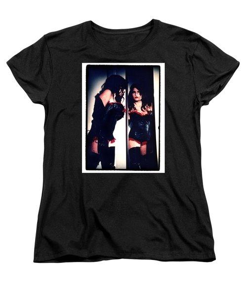 Film Noir Fetish Women's T-Shirt (Standard Cut) by Lon Casler Bixby