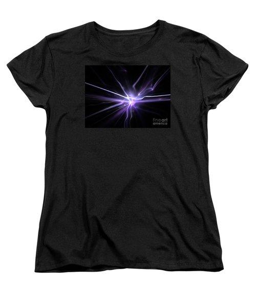 Women's T-Shirt (Standard Cut) featuring the digital art Firefly by Kim Sy Ok