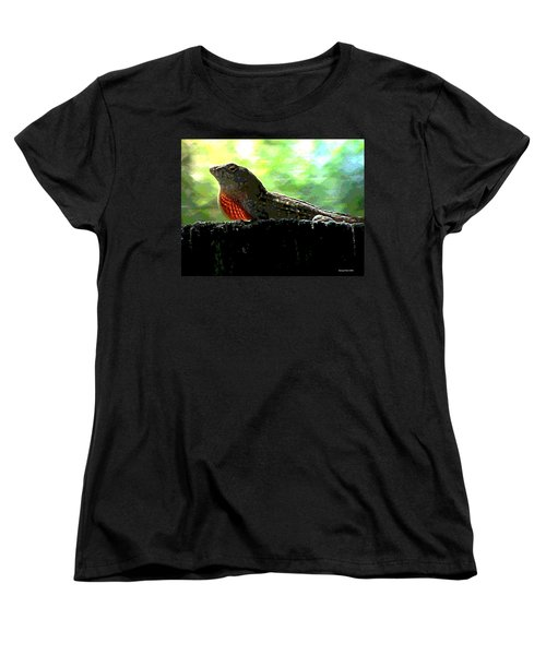 Women's T-Shirt (Standard Cut) featuring the photograph Florida Dinosaur by George Pedro