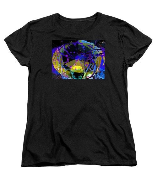 Flower Abstract Women's T-Shirt (Standard Cut) by Anne Mott