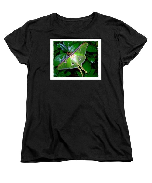 Fly Me To The Moon Women's T-Shirt (Standard Cut) by Judi Bagwell