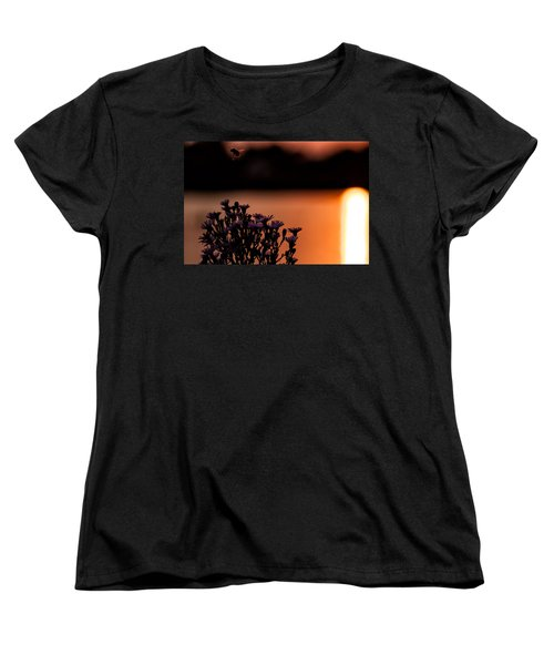 Women's T-Shirt (Standard Cut) featuring the photograph Flying Home by Tom Gort