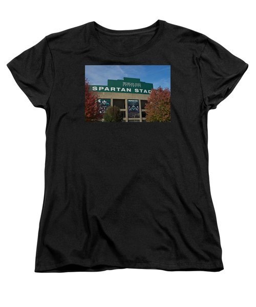 Women's T-Shirt (Standard Cut) featuring the photograph Football by Joseph Yarbrough