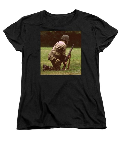 Women's T-Shirt (Standard Cut) featuring the photograph For Freedom by Lydia Holly