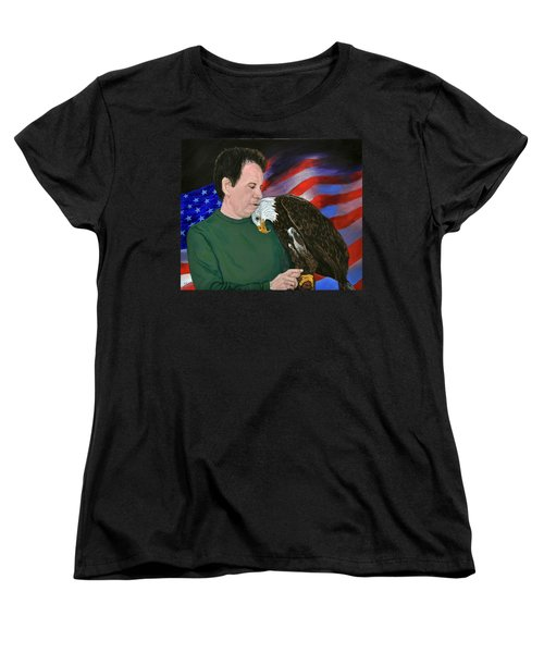 Freedom Friends Women's T-Shirt (Standard Cut) by Stan Hamilton