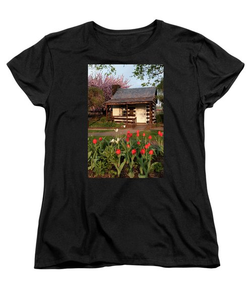 Women's T-Shirt (Standard Cut) featuring the photograph George Washington's House by Jeannette Hunt