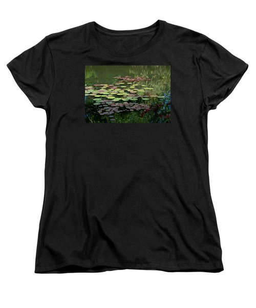 Giverny Lily Pads Women's T-Shirt (Standard Cut) by Eric Tressler