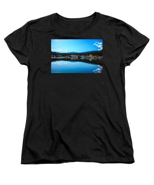Women's T-Shirt (Standard Cut) featuring the photograph Golf Course by Shannon Harrington