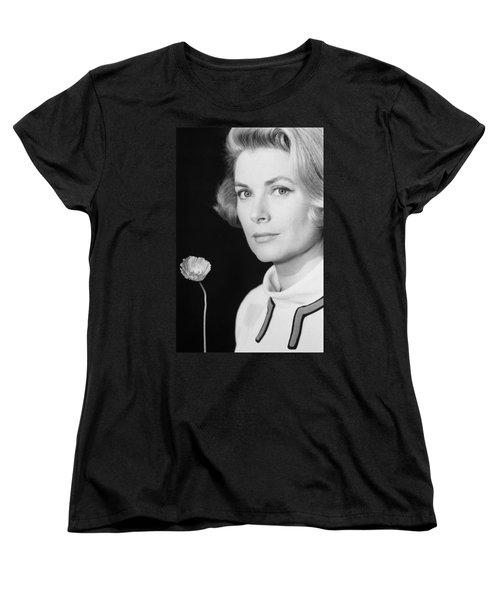 Grace Kelly (1928-1982) Women's T-Shirt (Standard Cut) by Granger