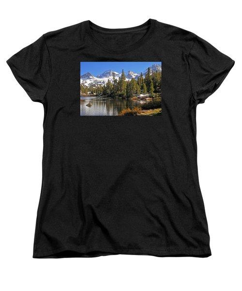 Women's T-Shirt (Standard Cut) featuring the photograph Hidden Jewel by Lynn Bauer