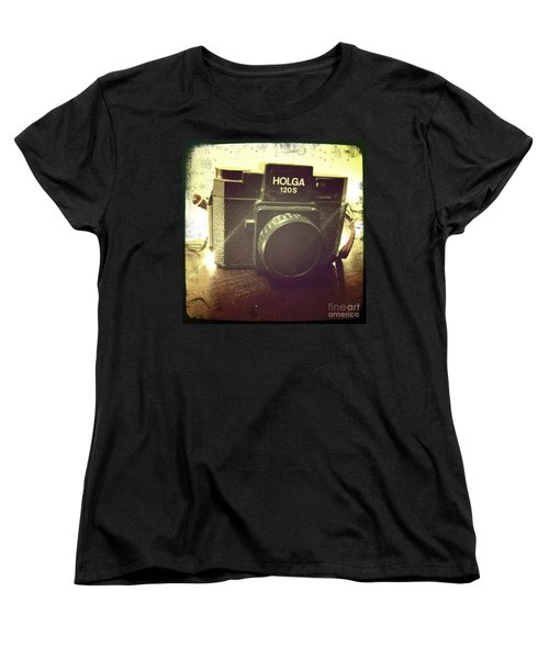 Women's T-Shirt (Standard Cut) featuring the photograph Holga by Nina Prommer