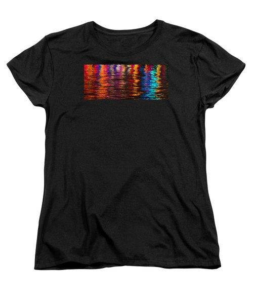 Holiday Reflections Women's T-Shirt (Standard Cut) by Dorothy Cunningham