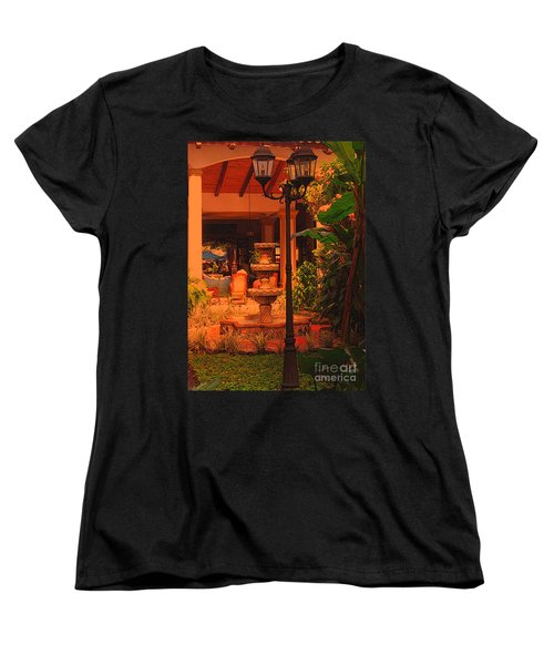 Women's T-Shirt (Standard Cut) featuring the photograph Hotel Alhambra by Lydia Holly
