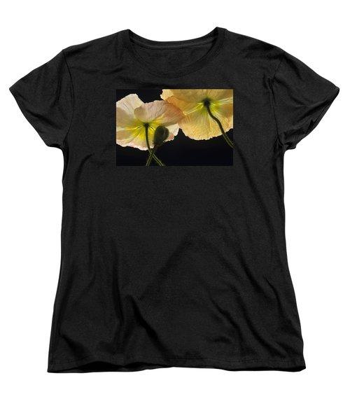 Iceland Poppies 2 Women's T-Shirt (Standard Cut) by Susan Rovira