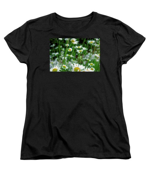 Women's T-Shirt (Standard Cut) featuring the mixed media Infiltrator by Terence Morrissey