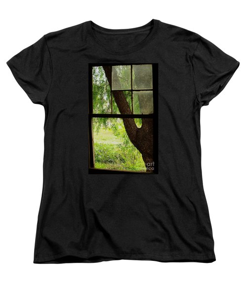 Women's T-Shirt (Standard Cut) featuring the photograph Inside Looking Out by Blair Stuart