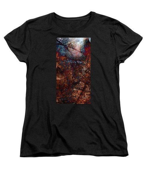 Into The Woods Women's T-Shirt (Standard Cut) by James Barnes