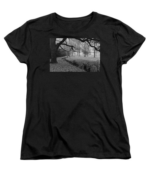 Women's T-Shirt (Standard Cut) featuring the photograph Isabella Plantation by Maj Seda
