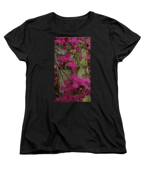 Women's T-Shirt (Standard Cut) featuring the photograph Japanese Painting by Manuela Constantin