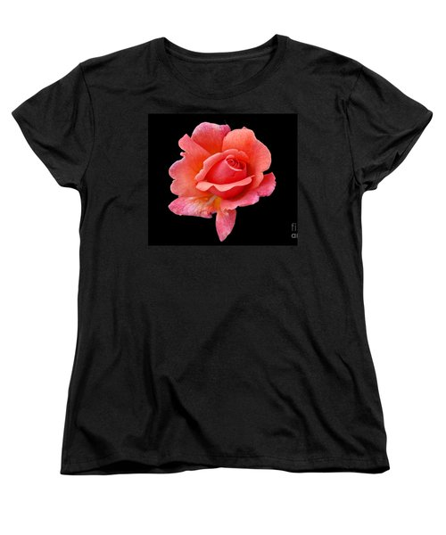 Just Peachy Women's T-Shirt (Standard Cut) by Cindy Manero