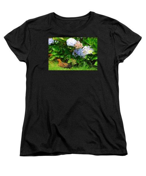Women's T-Shirt (Standard Cut) featuring the photograph Kauai Wildlife by Lynn Bauer