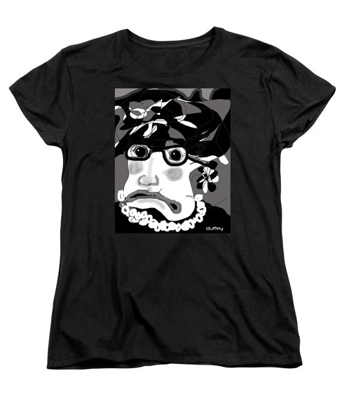 Lady Millicent Was Not To Be Outdone In The Crazy Hat Department Women's T-Shirt (Standard Cut)