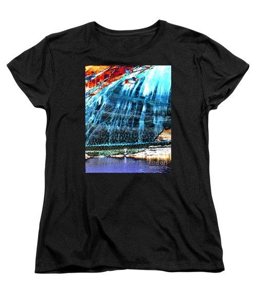 Lake Powell Reflection Women's T-Shirt (Standard Cut) by Rebecca Margraf
