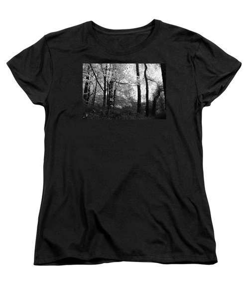 Lasting Leaves Women's T-Shirt (Standard Cut) by Kathleen Grace