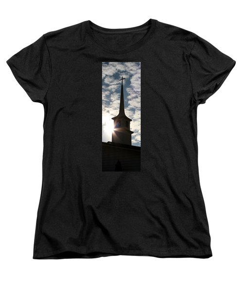 Women's T-Shirt (Standard Cut) featuring the photograph Light by Kume Bryant