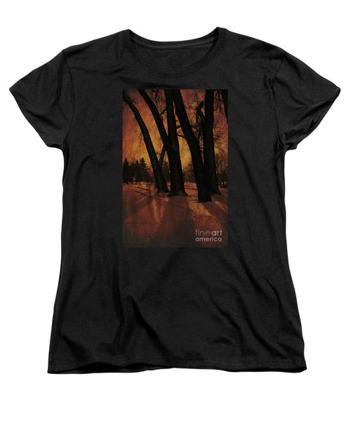 Long Shadows Women's T-Shirt (Standard Cut) by Alyce Taylor