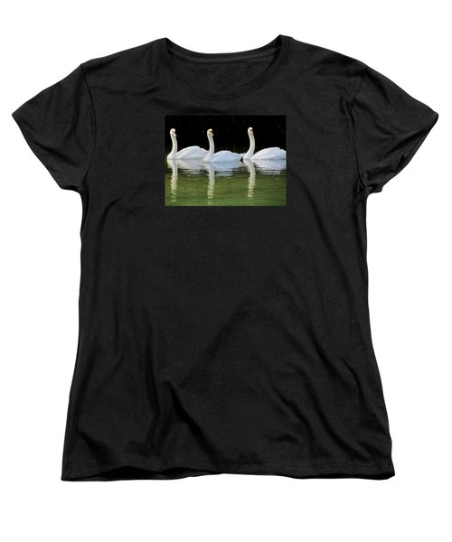 Look Over There Women's T-Shirt (Standard Cut) by Judy Wanamaker