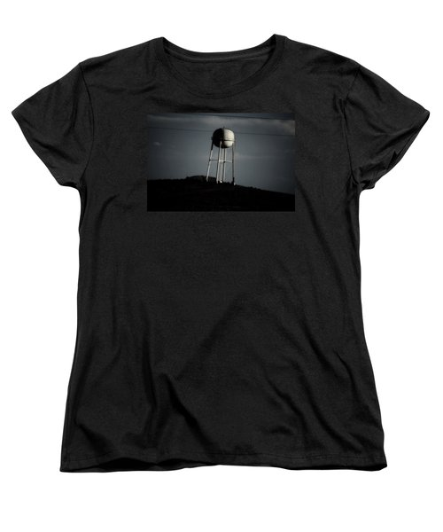Women's T-Shirt (Standard Cut) featuring the photograph Lopsided Tower by Jessica Shelton