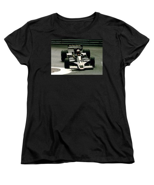 Women's T-Shirt (Standard Cut) featuring the photograph Mario World Champ by Michael Nowotny