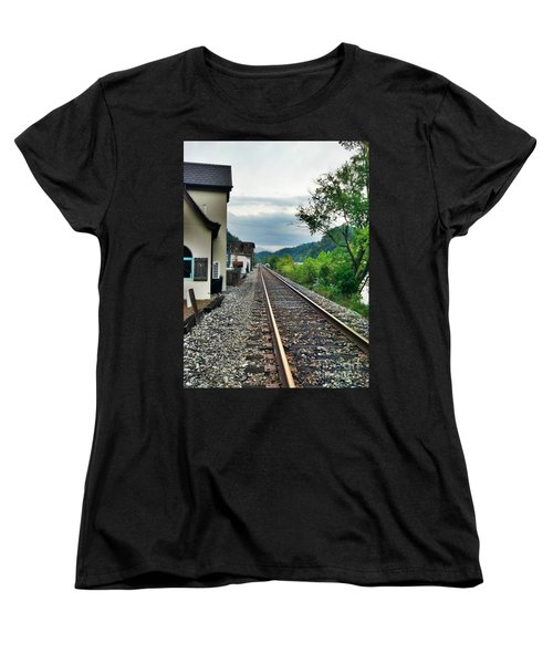 Women's T-Shirt (Standard Cut) featuring the photograph Marshall Nc by Janice Spivey