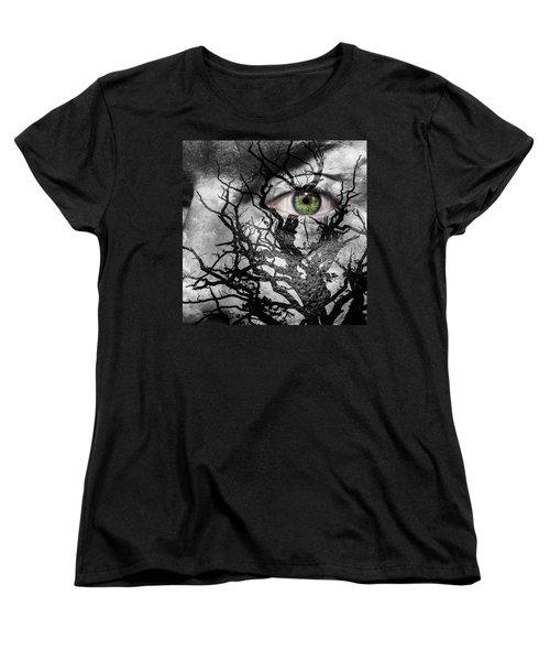 Medusa Tree Women's T-Shirt (Standard Cut) by Semmick Photo